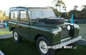land rover series ii land rover display at pebble beach concours d u0027elegance 2012