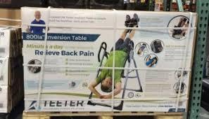 amazon black friday inversion teeter inversion table model 900ia u2013 costcochaser