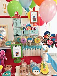 pocoyo party supplies party hat pocoyo birthday party for cayden