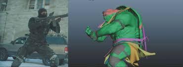making teenage mutant ninja turtles image engine