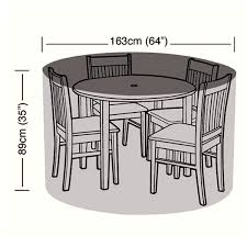 round picnic table covers for winter buy garden furniture covers online uk next day delivery