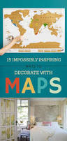 How To Decorate A Brand New Home by Best 20 Map Decorations Ideas On Pinterest Vintage Map Decor