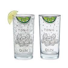 vodka tonic recipe gin and tonic diagram glassware set of 2 highball glass