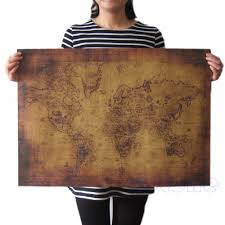 Old World Map by Online Get Cheap Old World Maps Aliexpress Com Alibaba Group