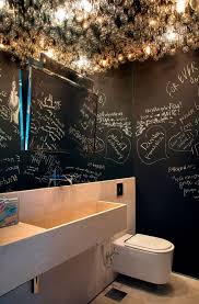bar bathroom ideas 21 unconventional chalkboard bathroom décor ideas digsdigs
