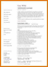 7 sample admin resume budget reporting