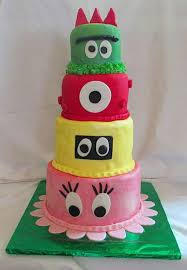 Yo Gabba Gabba Party Ideas by Yo Gabba Gabba Fondant Birthday Cake Birthday Cake Cake Ideas By
