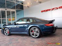 porsche dark blue metallic 2010 dark blue metallic porsche 911 turbo coupe 24944908 photo 5