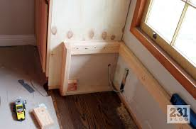 231 designs built ins part 3 window bench and cabinet tops
