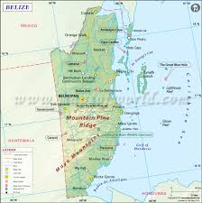 Blank Map Of Egypt And Surrounding Countries by Map Of Belize Belize Map
