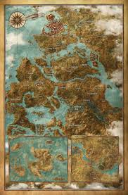 Dragon Age World Map by How Big Is The Witcher 3 U0027s World Map