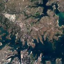 australia satellite map satellite map of sydney australia streets of sydney on