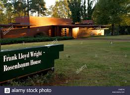 frank lloyd wright house stock photos frank lloyd wright house the rosenbaum house designed by architect frank lloyd wright is a public museum located in florence
