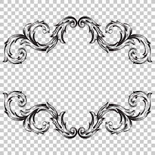 ornament in baroque style