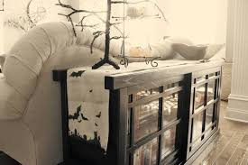 terrific halloween decorating ideas indoor with wooden table