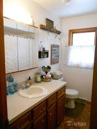 denise on a whim vintage farmhouse bathroom makeover