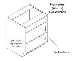 constructing kitchen cabinets cabinet box construction materials for kitchen cabinets best