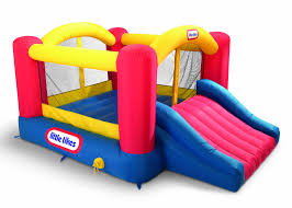 garden so much fun with bouncy houses on your fancy playground