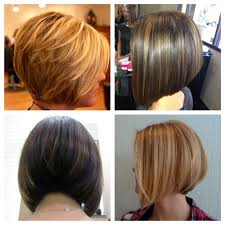 bob hairstyles in the back fade haircut