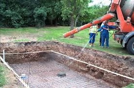 how to excavate and construct your own outdoor swimming pool