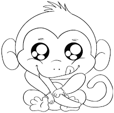 printable coloring pages monkeys free printable coloring pages animals zoo pictures monkey the art