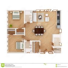 house plan top view stock illustration image of house 38384131