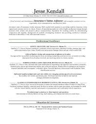 brilliant ideas of cover letter for entry level claims adjuster