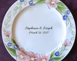 signable wedding platters wedding guest book alternative guest book plate signature