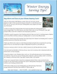 energy saving tips cape light compact