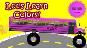 monster truck videos for kids youtube monster trucks buses for children teaching colors youtube
