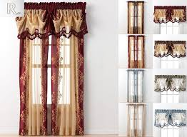 Embroidered Curtain Panels Embroidered Traditional Curtains Drapes U0026 Valances Ebay