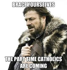 Lent Meme - brace yourselves tits and kool aid are coming braceyouselves