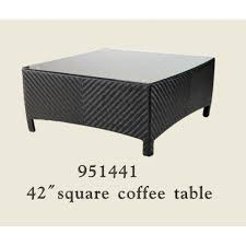 42 square coffee table patio renaissance huntington collection 42 square coffee table with