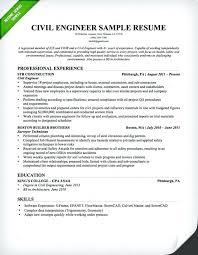 Format For Resume For Internship Sample Resume For Civil Engineering Student Civil Engineer Resume