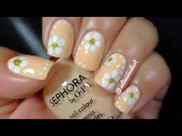 quick u0026 easy flower nail art tutorial selina u0027s nail art youtube