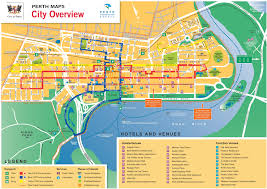 Los Angeles District Map by Perth Cbd Map