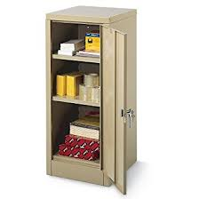 Steel Storage Cabinets Amazon Com Edsal 6604tn Tan Steel Storage Cabinet 2 Adjustable