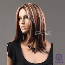 brown hair medium length hairstyles copper highlights on medium brown hair how to go blonde at home