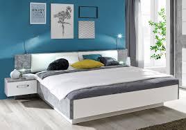 Schlafzimmer Komplett Rondino Doppelbett Ehebett Bettgestell Bett Mit Nachtkonsolen 180 X 200 Cm