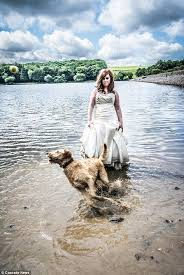 Wedding Dresses In The Uk Trashthe Dress Photography Trend For Brides Wrecking Their