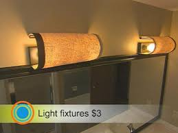 Diy Light Fixtures Round Up 6 Ways To Cover Ugly Ceiling Light Fixtures Curbly