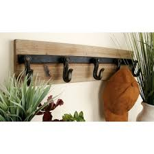 home traditional wall mounted coat rack hanging with mirror shelf