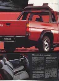 nissan pickup 1996 nissan d21 king cab pickup dealer brochure for mexico nicoclub