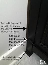 baseboard trim diy show off diy decorating and home