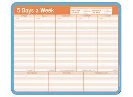 7 best images of 5 day work week monthly calendar printable 5