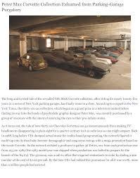 max corvette max collection car consulting