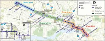 Amtrak Northeast Regional Map by Richmond Wants An 80 Mile Brt Network Here U0027s Where It Would Go