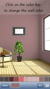 perfect color matching wall painting and dressing up on the app