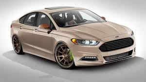 siege auto sport tuning ford plays dress up with fusion for vegas tuning
