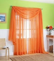 Sheer Curtains Orange Cheap Sheer Orange Curtains Find Sheer Orange Curtains Deals On